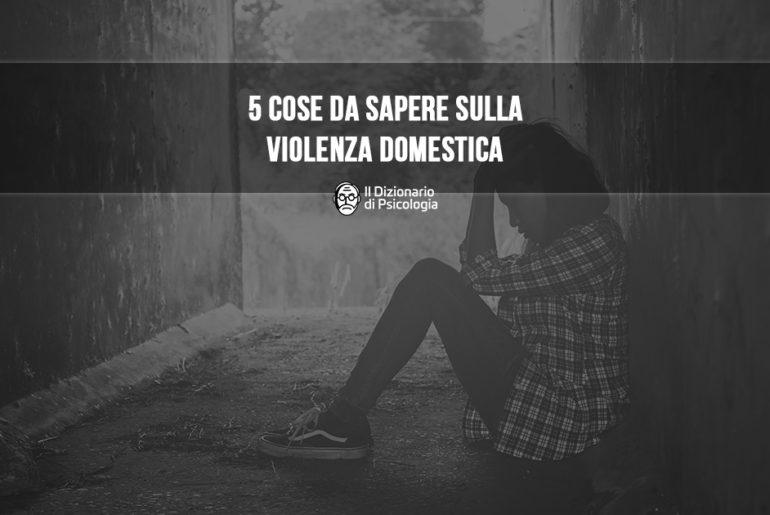 cose da sapere sulla violenza domestica